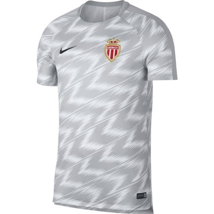 maillot entrainement AS Monaco LONGUES