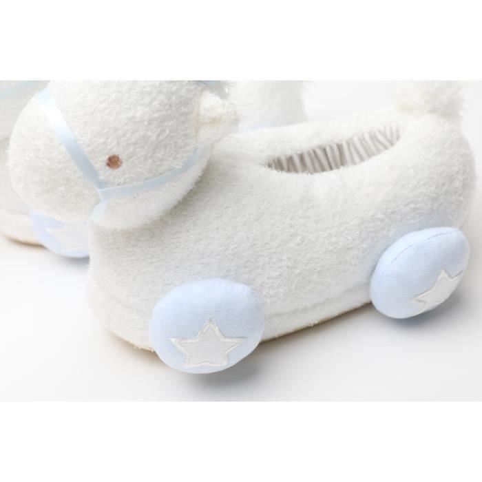 Pantoufles maison Licorne Pantoufles en coton chaud d'hiver Poney poupée Peluche ZbTMhR7G