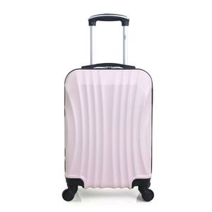 VALISE - BAGAGE Valise Cabine ABS – Coque rigide – 50cm MOSCOU-E -
