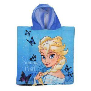 PEIGNOIR poncho de bain avec capuche Frozen - Reine des nei