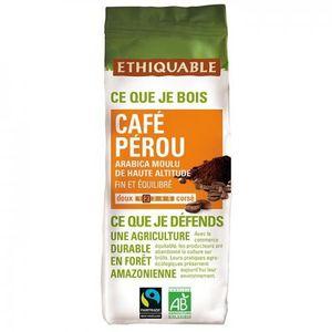 CAFÉ ETHIQUABLE - Café Pérou MOULU bio & équitable 500