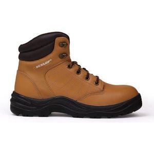 CHAUSSURES DE SECURITÉ Chaussures de sécurité homme Dunlop Marron