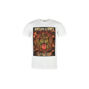 Rock Vintage - T-shirt Rolling Stones Singapour Tour Blanc