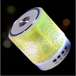 ENCEINTE NOMADE A11 Mini LED Lights Haut-parleur sans fil Bluetoot