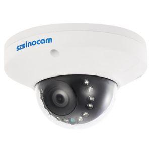 CAMÉRA IP Szsinocam 1080P HD POE Dome Caméra IP 2.0MP 12 IR