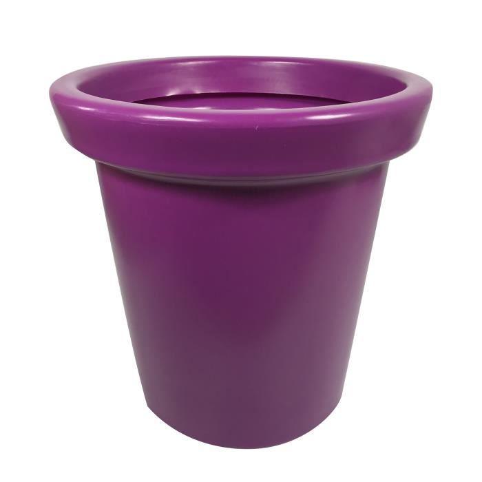 Pot de fleurs Delight - 75 L - Violet