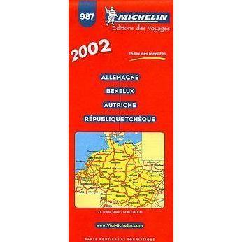 carte routiere allemagne benelux autriche republique tcheque