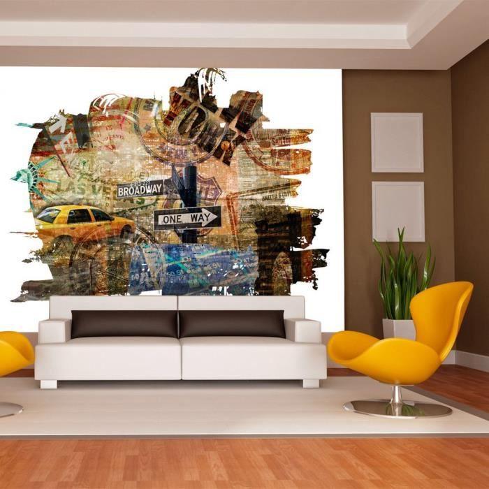Papier Peint Intisse New York 200x140 Cm 4 Les Achat Vente