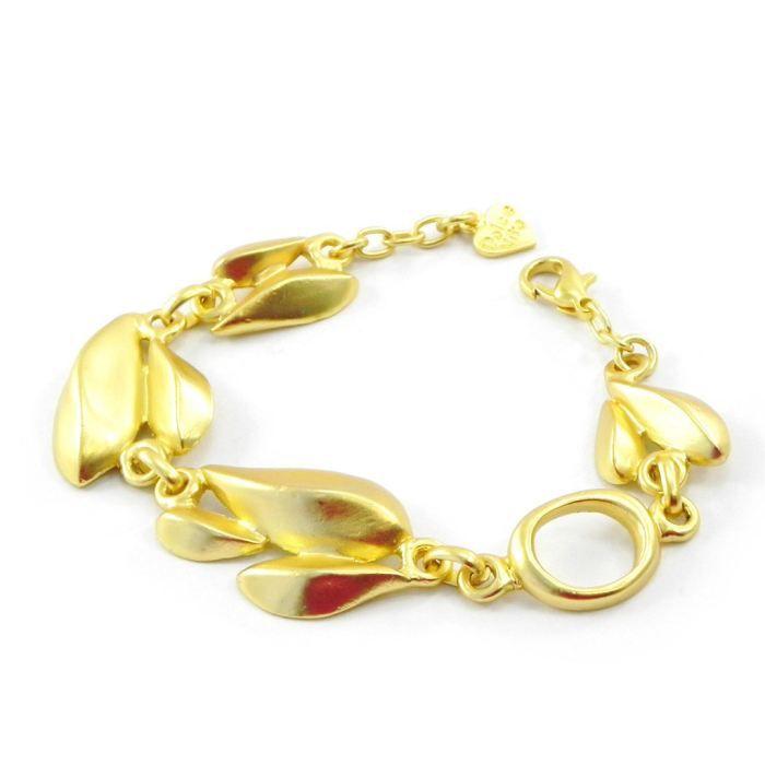 Bracelet Créateur Antica doré