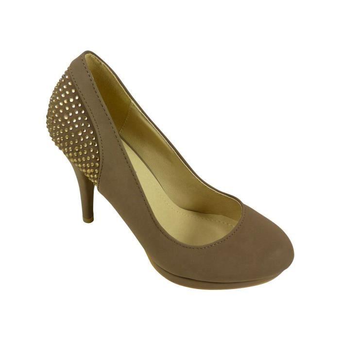 Chaussures escarpins femme à talons hauts, plat...