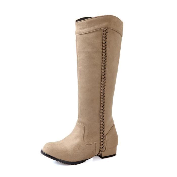 martin boots-Femmes de pures Bottes talonpais...