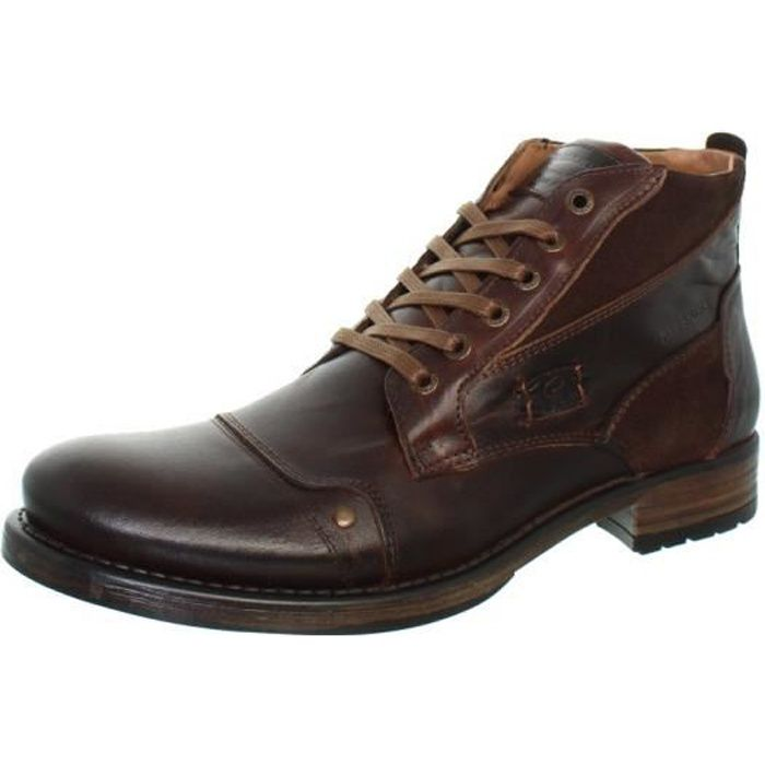 Boots Redskins Yvori ref_cle41751 marron