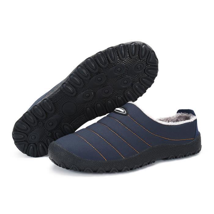Coton Chaussures Hiver Léger Antidérapant Haut qualité Nouvelle Mocassins Garde Au Chaud Mode Homme Mocassin Coton Confortable 39-46 oXAcW