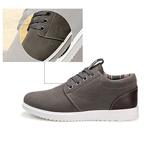 4 Gris Loisirs Pour Tendance Chaussures Homme Respirantes Plates de Saisons Tennis aqHxw1O7
