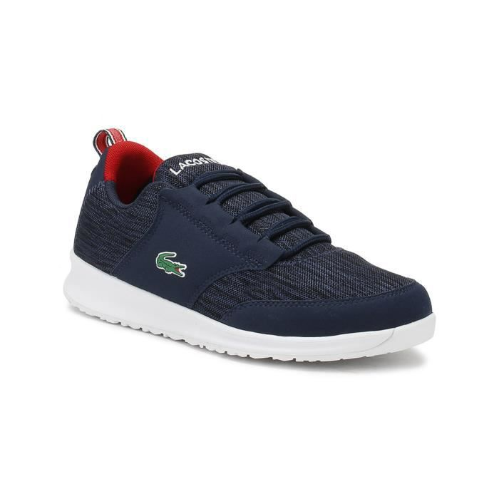 f297b96a91 Lacoste Junior Marine - Rouge L.ight 118 4 Trainers-FR 2 Navy ...