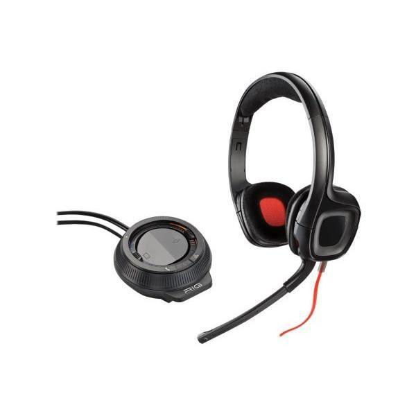 Plantronics Micro-casque Gamer Gamecom D60 - Filaire Noir
