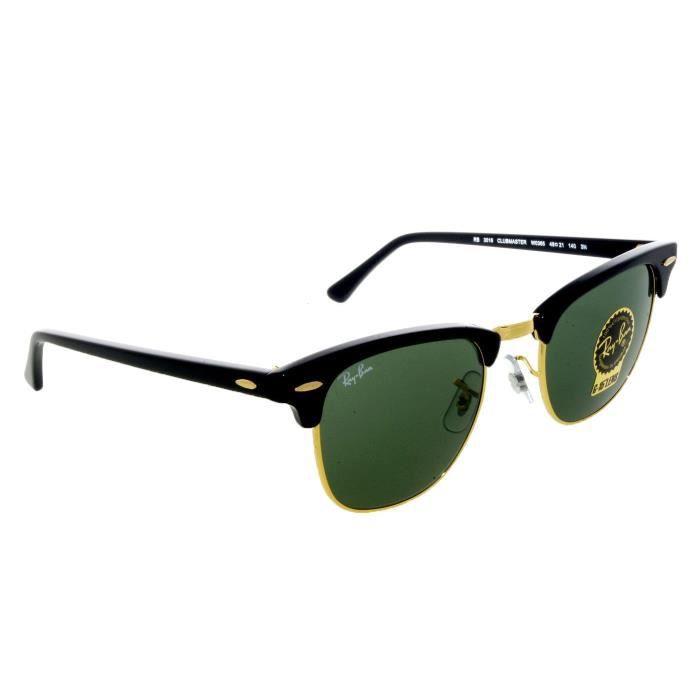 RAY BAN 3016 (noir et doré - gris-vert - taille 49) - Achat   Vente ... e779cc167111