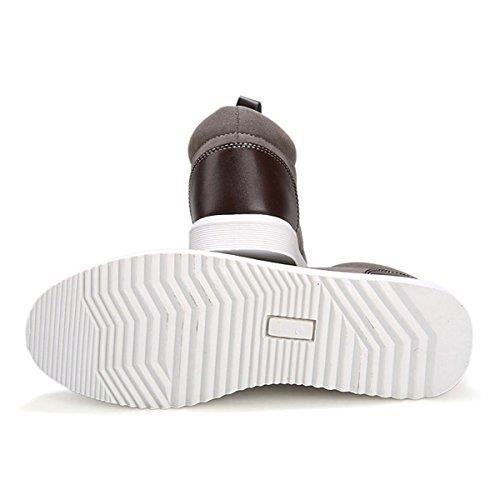 Homme Pour Tendance 4 Saisons Respirantes Loisirs Chaussures Gris de Plates Tennis nHqWwOS4gc