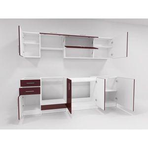 cuisine avec four encastrable achat vente cuisine avec four encastrable pas cher cdiscount. Black Bedroom Furniture Sets. Home Design Ideas