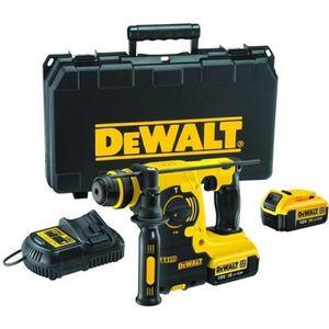 DEWALT Perforateur burineur SDS Plus 2x18V 4Ah Li-ion et un coffret