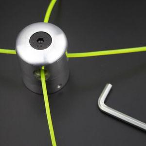 DÉBROUSSAILLEUSE  Tête de ligne en aluminium double tête de débrouss