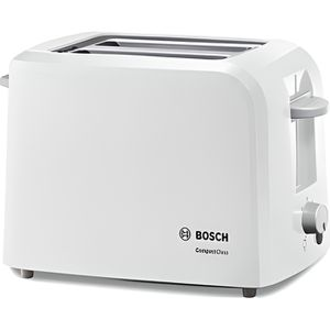 GRILLE-PAIN - TOASTER BOSCH TAT3A011 Grille-pain CompactClass - Blanc