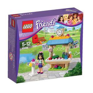 ASSEMBLAGE CONSTRUCTION LEGO® Friends 41098 Le Kiosque d'Emma