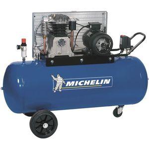 COMPRESSEUR Compresseur 200 litres à gros débit d'air Michelin