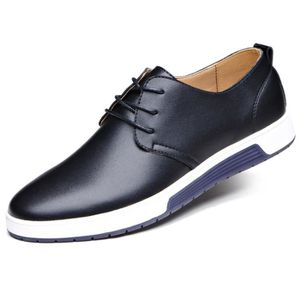 DERBY Modehall@Mode Hommes Casual Chaussures plates en c