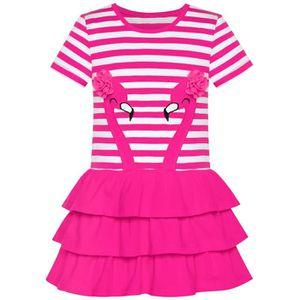 ad682e9829180 ROBE Sunny Fashion Robe Fille Coton Manche courte Décon