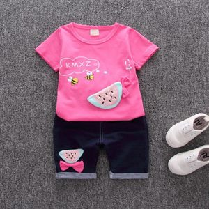 4f95aca0f35a8 Ensemble de vêtements Enfant en bas âge Enfants Bébés filles Bee Fruit T ...