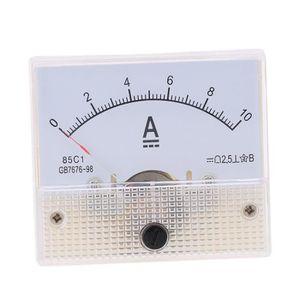 MULTIMÈTRE DC0-10A analogique actuel panneau compteur testeur