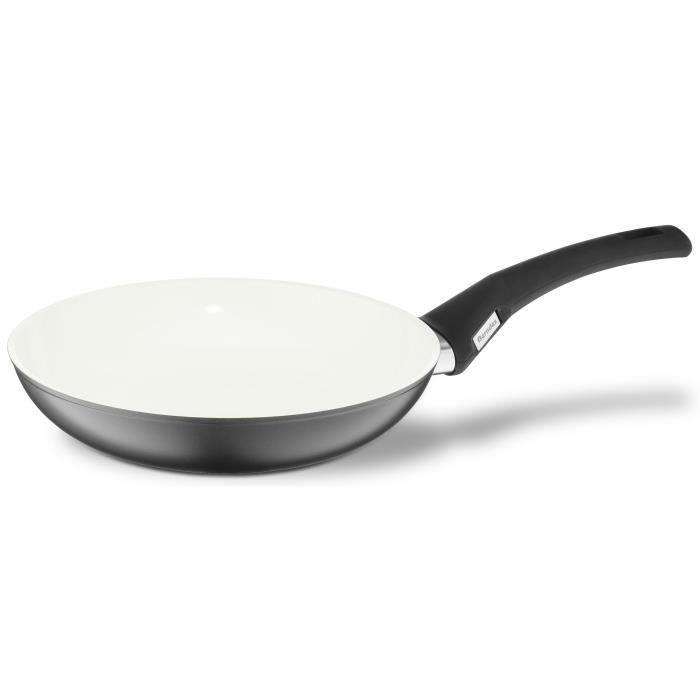 BERNDES Poêle à frire Perfect Balance® Smart - Ø 24 cm - Noir et crème - Tous feux dont induction