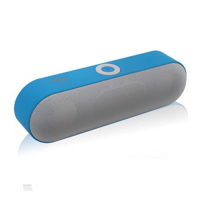Stéréo Haut-parleur Portable Bluetooth Sans Fil 3d Super Bass Haut-parleurs Sound System @5587