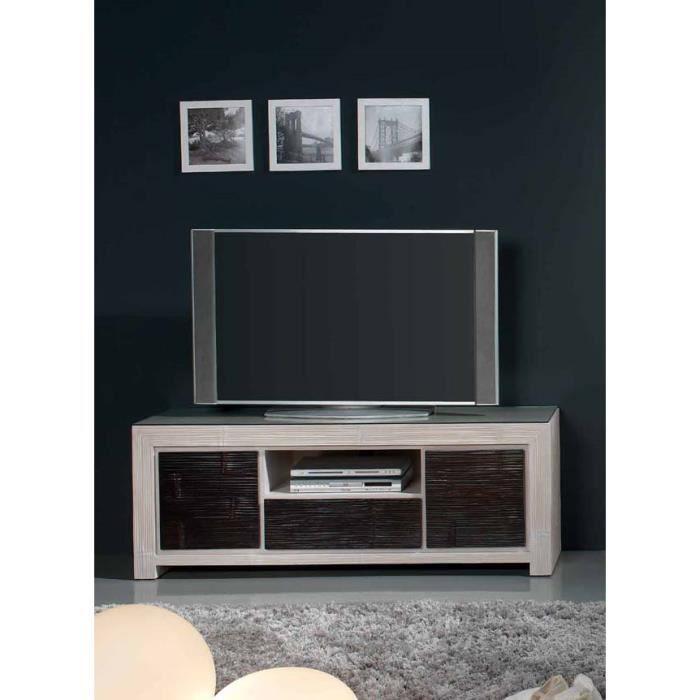 Table TV en bambou : modèle TERRA. - Achat / Vente meuble tv Table ...