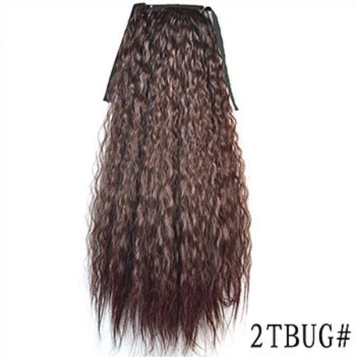 Cosplay Mangas Perruque Cheveux Bouclés Résistant à La Chaleur Pour