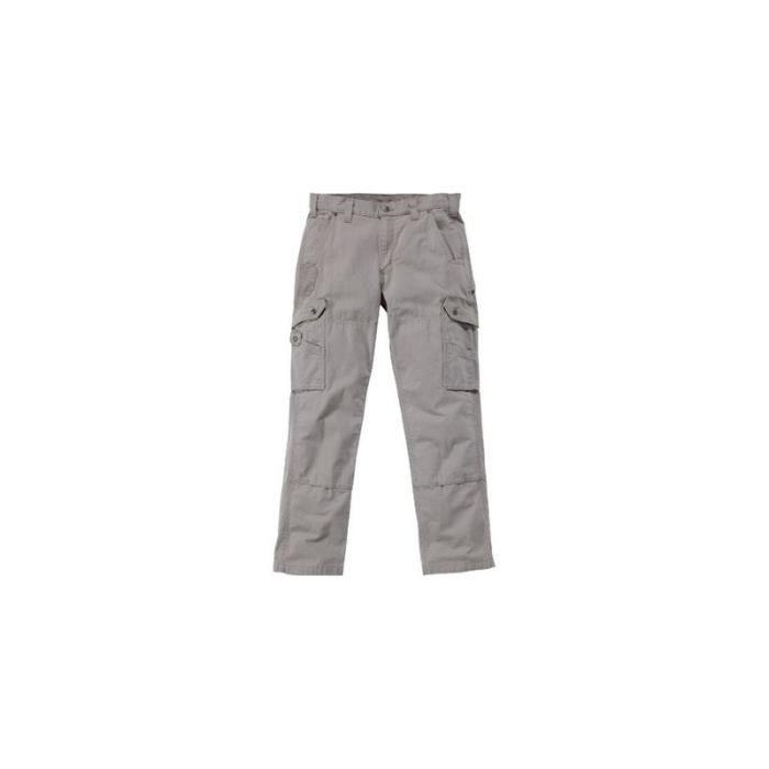 0d34ce1bb7bad Pantalon Cargo B342 Carhartt (Taille  48, Coloris  Noir, Tour de ceinture  (cm)  96)