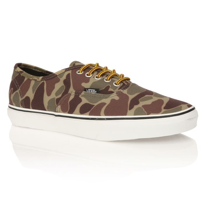Basket Vans Authentic Waxed Canv...