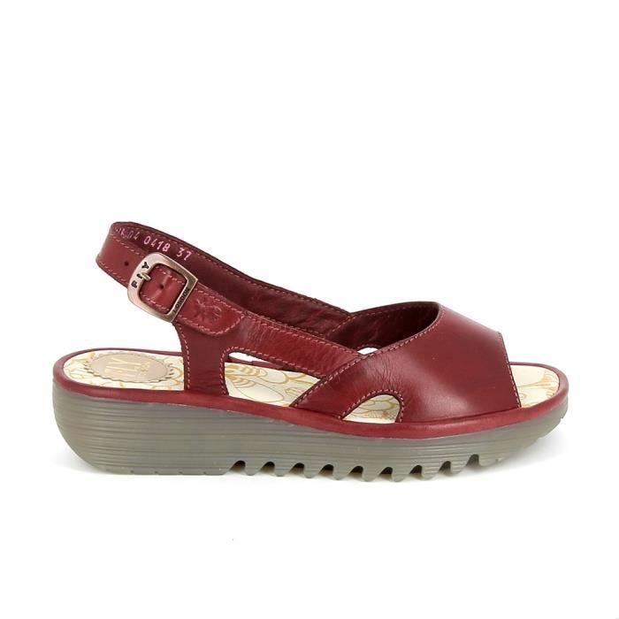 Chaussure de ville FLY LONDON Elfe Rouge