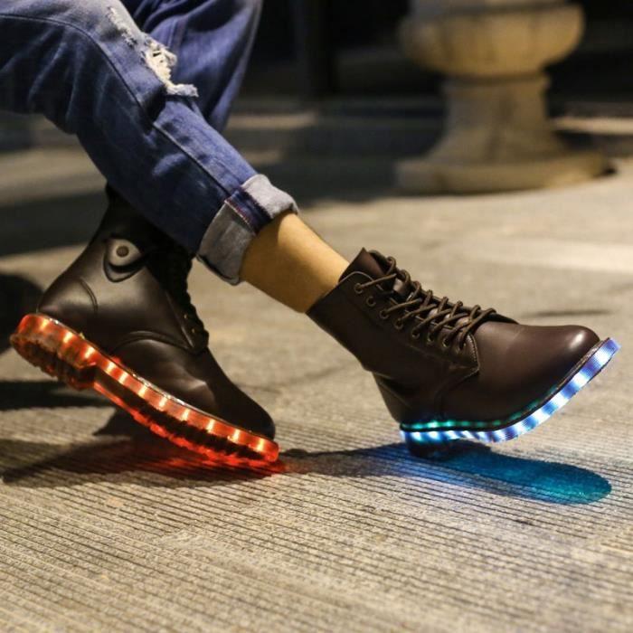 Bottes pour Hommenoir 12 Populaires Lovers Chaussures d'hiver et des à talon automne chaussures légères facturables Ch_38338