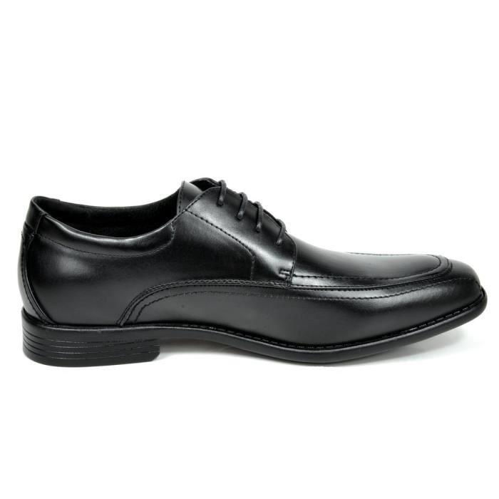 Bruno Marc Dp formel moderne classique lacées en cuir doublé Oxford Robe Chaussures DQICR Taille-39