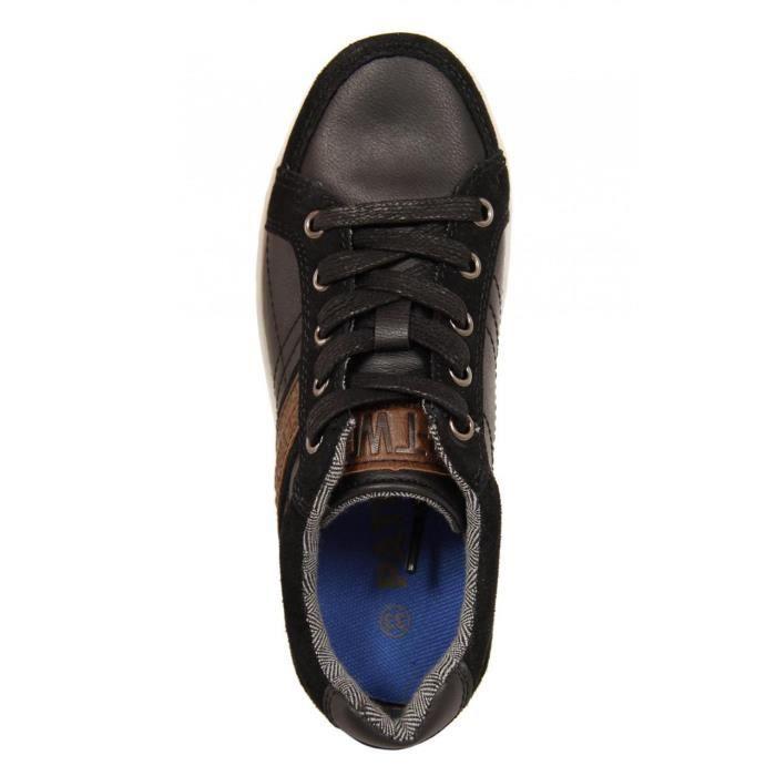 Chaussures pour Garçon Patrick 196540-B5300 BLACK-DNATURAL
