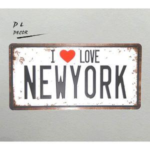 objet deco new york achat vente objet deco new york pas cher cdiscount. Black Bedroom Furniture Sets. Home Design Ideas