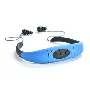 LECTEUR MP3 IPX8 MP3 Etanche Natation,4Go Disque U Amovible po