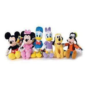 PELUCHE Ensemble Mickey Mouse composé de 6 jouets en peluc
