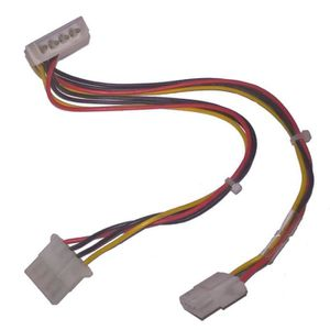 CÂBLE INFORMATIQUE Câble Doubleur HP Compaq 296563-005 Molex Mâle 2x