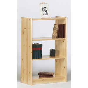 bibliotheque pin massif achat vente bibliotheque pin. Black Bedroom Furniture Sets. Home Design Ideas