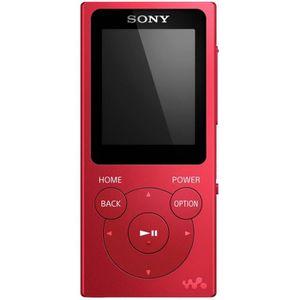 LECTEUR MP3 Sony NWE394R.CEW Lecteur MP3 Portable Rouge