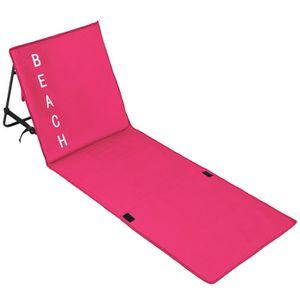 matelas de plages avec dossier achat vente pas cher. Black Bedroom Furniture Sets. Home Design Ideas