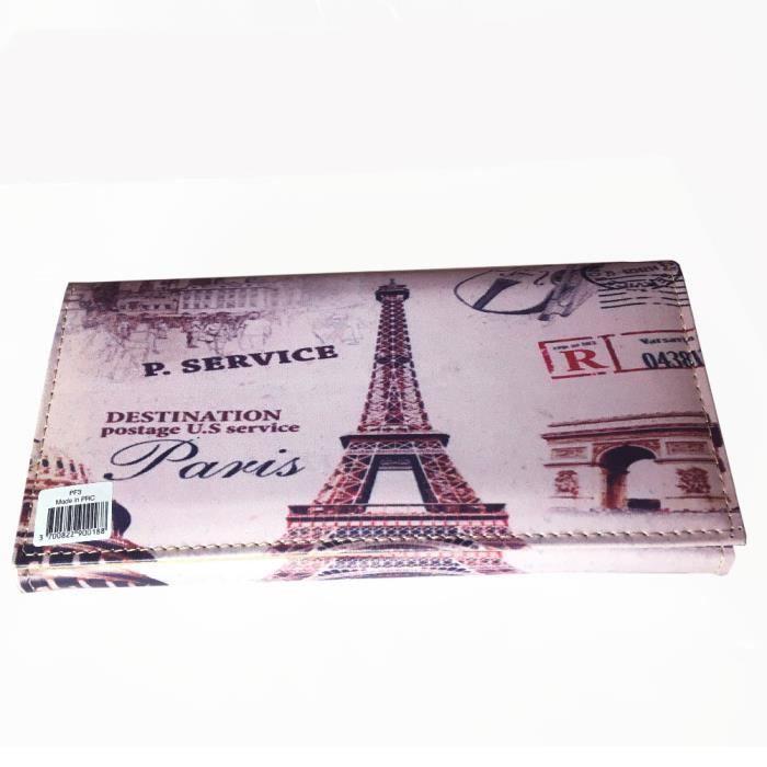 TOUT EN UN Compagnon Rose Destination Paris